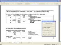 Buchhaltungssoftware TZ-EasyBuch 3.0 Screenshot Elster